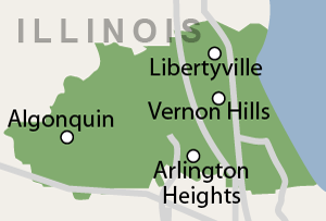 Dr. Energy Saver (N.E. Illinois) service area